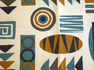 blue white aztec
